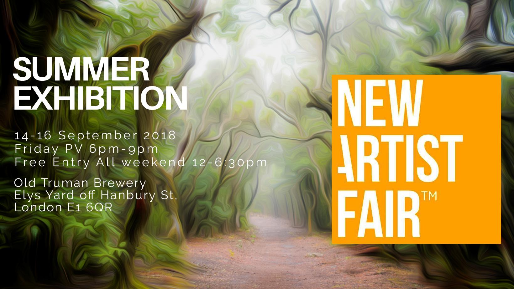New Artist Fair next weekend :-)