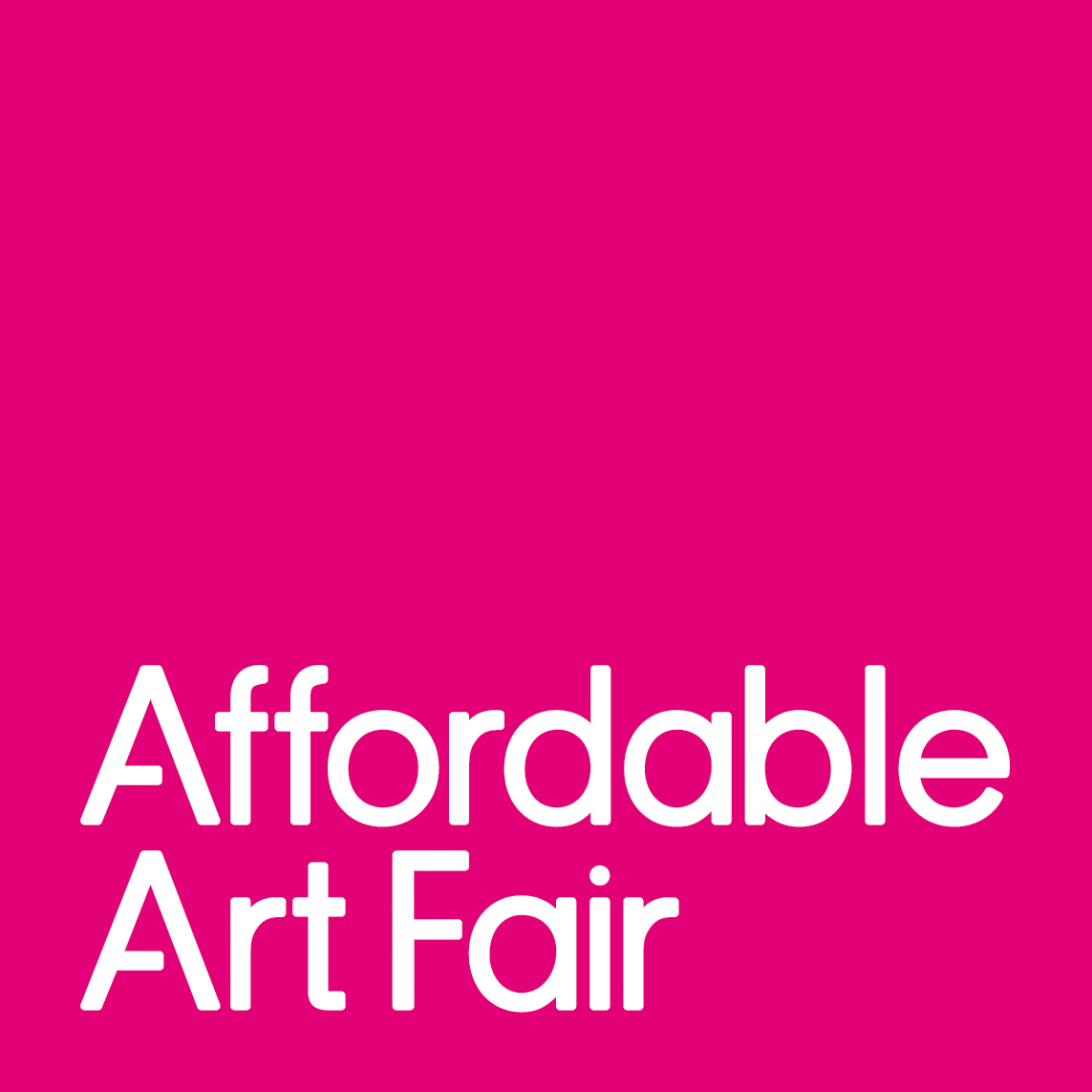 Affordable Art Fair Battersea opens this evening!