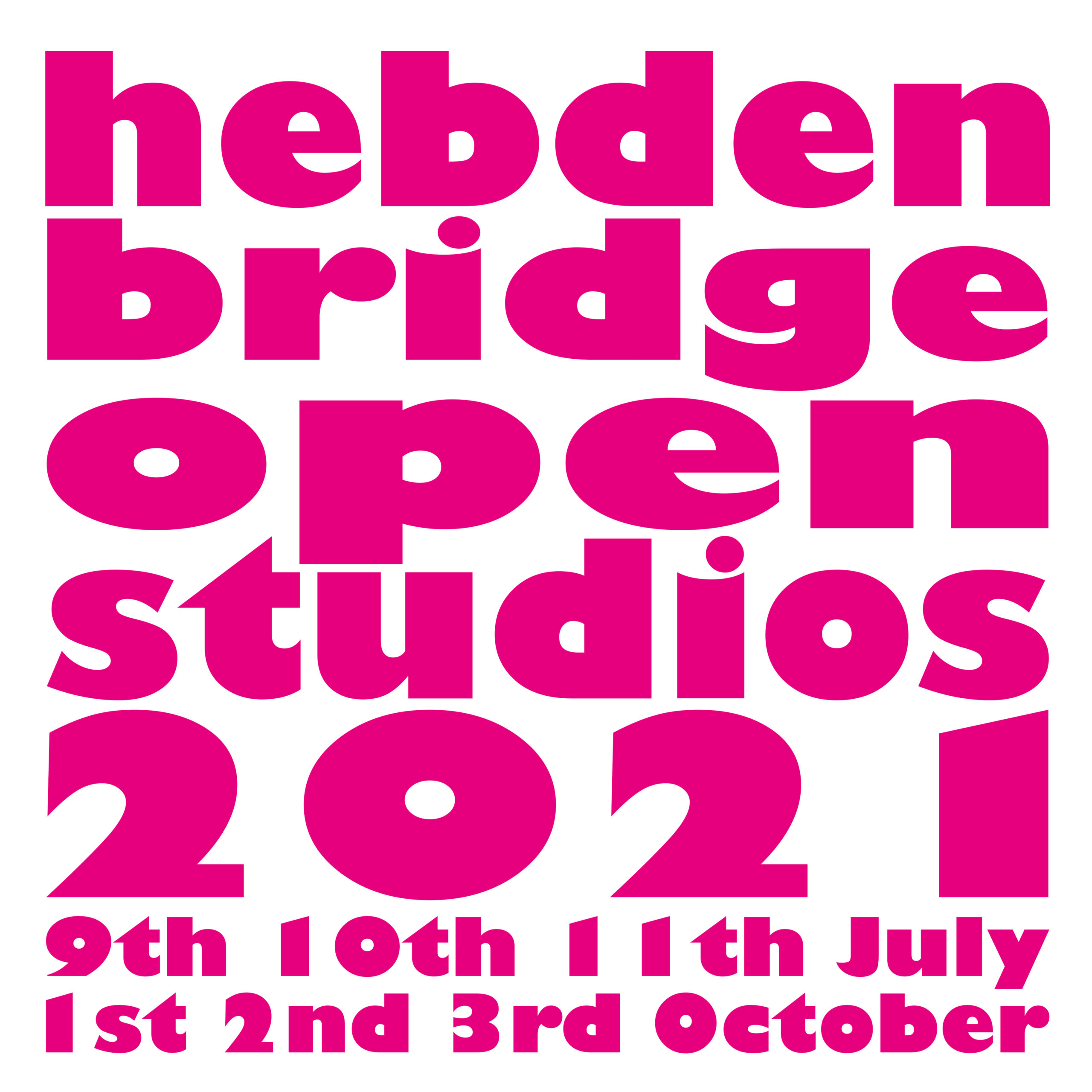 July Open Studios – we will find a way!!