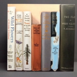 Art Card: Wayside & Woodland - from an original bookshelf painting