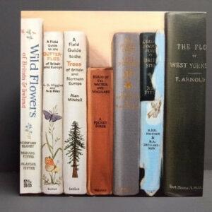 Art Card: Wayside & Woodland - from an original bookshelf painting