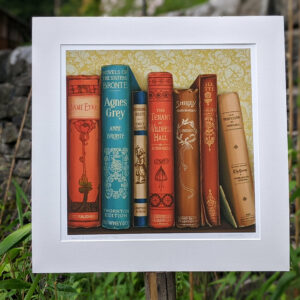 Giclee Print: Bronte Sisters - Limited edition print from an original oil painting
