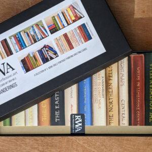 Gift Box No.3: Wanderings - Five Art Cards from original bookshelf paintings